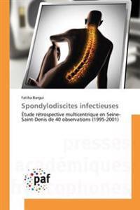 Spondylodiscites infectieuses