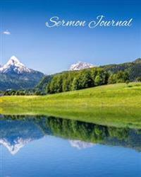 Sermon Journal: Alps Landscape