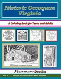 Historic Occoquan Virginia: A Coloring Book for Teens and Adults