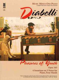 Diabelli: Pleasures of Youth, Opus 163, Piano [With CD (Audio)]