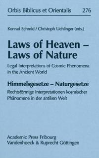 Laws of Heaven - Laws of Nature / Himmelsgesetze - Naturgesetze
