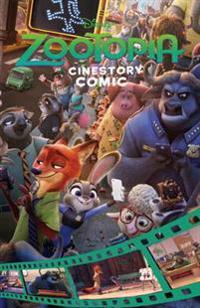 Disney Zootropolis Cinestory Comic