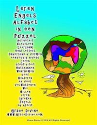 Leren Engels Alfabet in Een Puzzel Activiteit Kleurboek Leerzaam Vind Letters Onderscheid Vormen Eenvoudig Niveau Leren Creativiteit Ontspannen Waarne