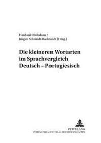 Die Kleineren Wortarten Im Sprachvergleich Deutsch-Portugiesisch