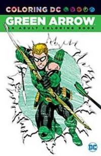 Green Arrow Adult Coloring Book