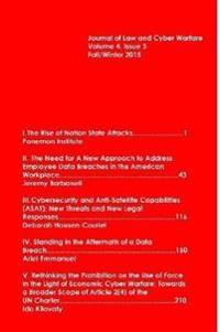Journal of Law & Cyber Warfare Vol. 4:3 Winter 2015