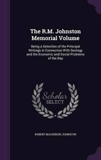 The R.M. Johnston Memorial Volume
