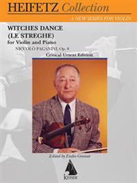 Witches Dance (Le Streghe) Op. 8: For Violin and Piano