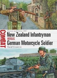 New Zealand Infantryman versus German Motorcycle Soldier