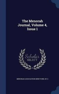 The Menorah Journal, Volume 4, Issue 1