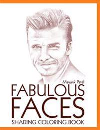 Fabulous Faces, Shading & Coloring Book