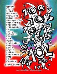 Gyckel Tal 1-209 Malarbok Utbildning Hjalpa Ovningar for Uppfattning Forbattra Erkannande AV Tal & Symboler for Barn Vuxna Pensionarer Hem Skola Arbet