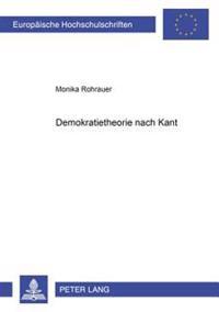 Demokratietheorie Nach Kant
