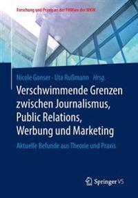 Verschwimmende Grenzen Zwischen Journalismus, Public Relations, Werbung Und Marketing