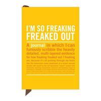 Knock Knock I'm So Freaking Freaked Out Mini Inner-Truth Journal