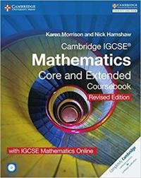 Cambridge Igcse Mathematics Core and Extended Coursebook + Cd-rom + Igcse Mathematics Online