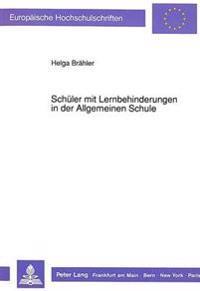 Schueler Mit Lernbehinderungen in Der Allgemeinen Schule: Kooperationsmodell Baden-Wuerttemberg