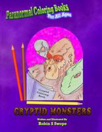 Paranormal Coloring Books: Cryptid Monsters