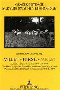Millet - Hirse - Millet