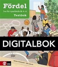 Fördel SVA för nyanlända åk 4-6 Textbok Digital