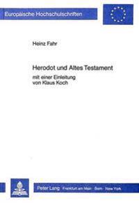 Herodot Und Altes Testament