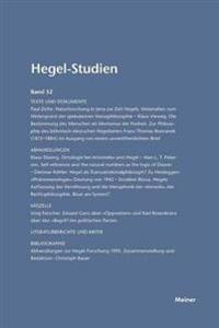 Hegel-Studien Band 32 (1997)