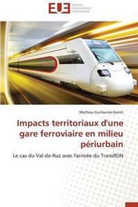 Impacts Territoriaux d'Une Gare Ferroviaire En Milieu P�riurbain