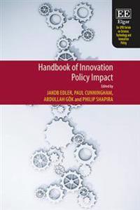 Handbook of Innovation Policy Impact