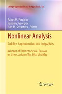 Nonlinear Analysis