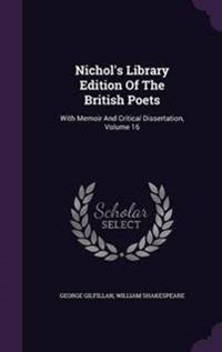 Nichol's Library Edition of the British Poets