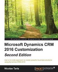 Microsoft Dynamics CRM 2016 Customization -