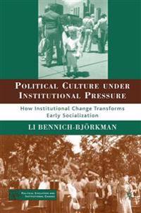 Political Culture Under Institutional Pressure