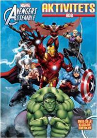 Marvel Avengers Aktivitetsbok