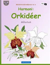 Brockhausen Malarbok Vol. 6 - Harmoni: Orkideer: Malarbok