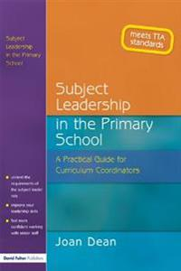 Subject Leadership in the Primary School