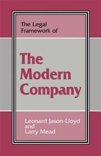 Legal Framework of the Modern Company