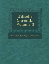 J¿dische Chronik, Volume 3