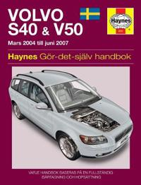 Volvo S40 & V50 Owners Workshop Manual - Haynes Publishing pdf epub