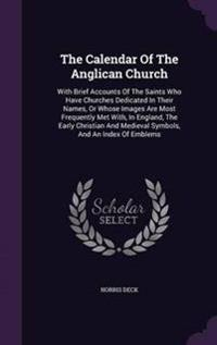 The Calendar of the Anglican Church