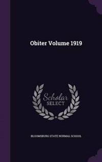 Obiter Volume 1919