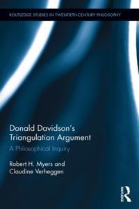 Donald Davidson's Triangulation Argument