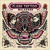 Flash Tattoo målarbok