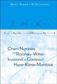 Chern Numbers And Rozansky-witten Invariants Of Compact Hyper-kahler Manifolds