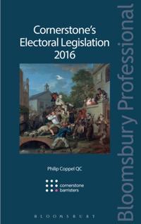 Cornerstone s Electoral Legislation 2016