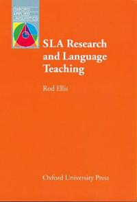 Sla Research & Language Teaching