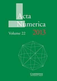 Acta Numerica Acta Numerica 2013: Series Number 22