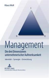 Management - Die Drei Dimensionen Unternehmerischer Aufmerksamkeit: Identitaet - Synergie - Entwicklung