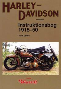 Harley-Davidson instruktionsbog 1915-51