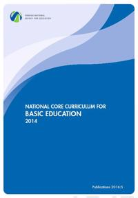 NATIONAL CORE CURRICULUM FOR BASIC EDUCATION 2014