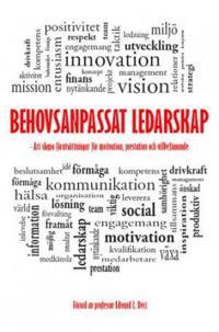 Behovsanpassat ledarskap : att skapa förutsättningar för motivation, prestation och välbefinnande